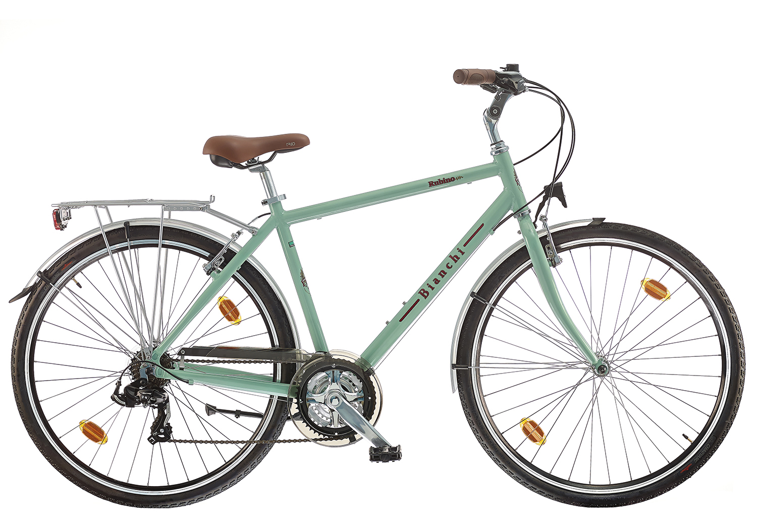 bianchi green city bike