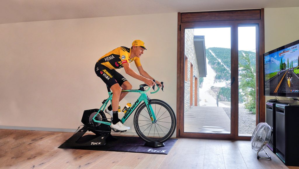 Ride like a pro. Ride at home – Bianchi