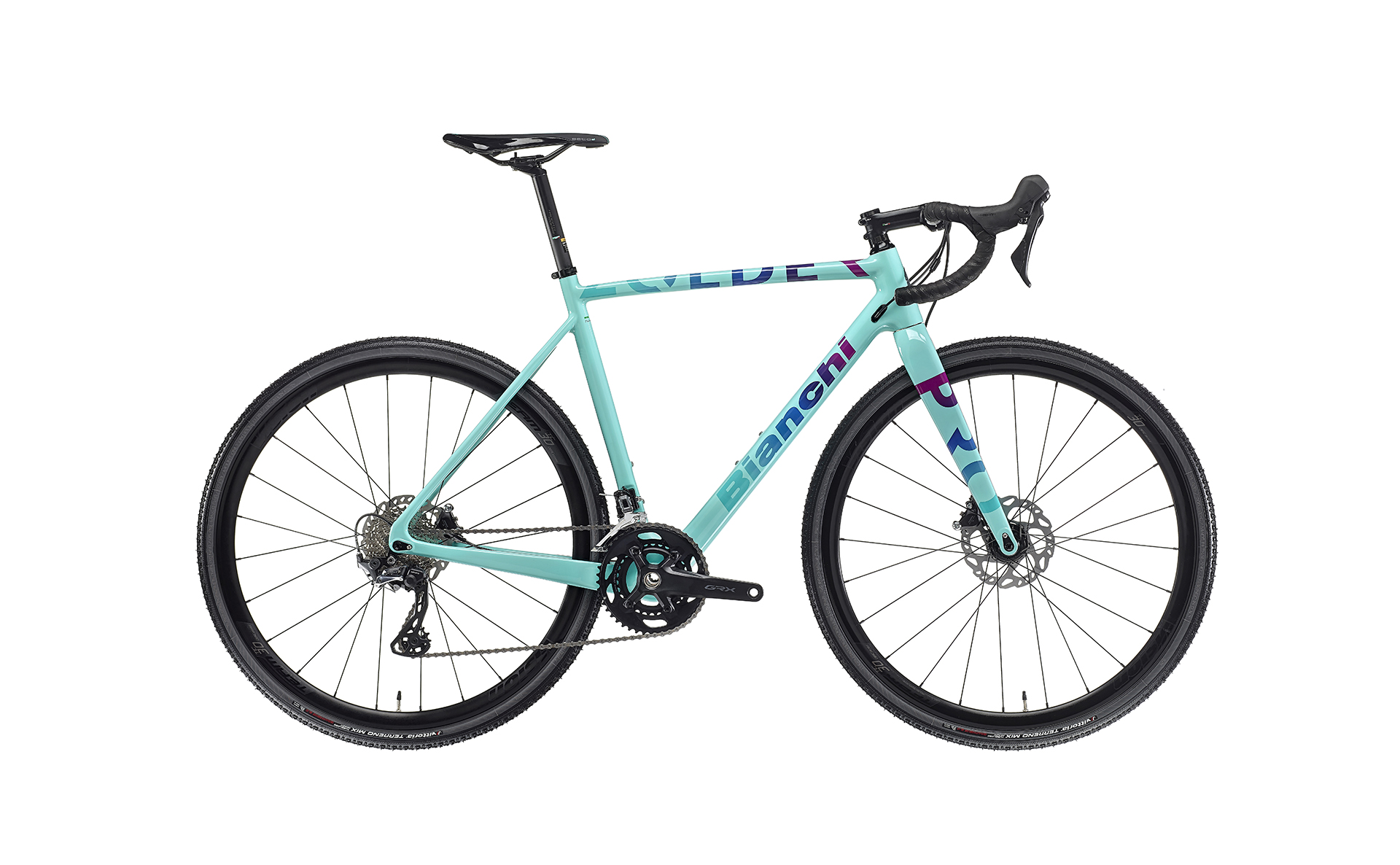 green bianchi cx racing bike